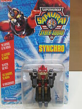 ROBOT TRANSFORMERS SUPERHUMAN SAMURAI SYBER-SQUAD SYNCHRO  PLAYMATES IDEAL