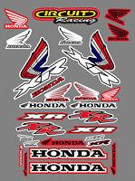Honda XR50 XR50R XR70 XR70R XR75 XR75R XR80 XR80R Sticker Kit Graphics