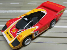 For H0 Slotcar Racing Model Railway Porsche 962 with Tomy Chassis