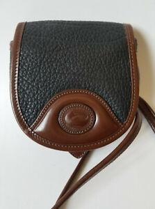 Dooney & Bourke AWL Mini Crossbody Belt Bag Black Brown