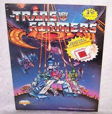 TRANSFORMERS STICKER COLLECTOR'S ALBUM + MAGIC DECODER =1986 =VINTAGE