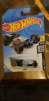 HOT WHEELS 2019 ROD SQUAD #10/10  Z-ROD  ( Blue with Flames ) Nice card 166/250