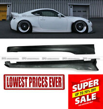 For Toyota BRZ FT86 GT86 FRS RB-Style Ver 2 FRP New Side Skirt Panel Kits (2pcs)
