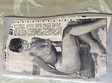 A2n ephemera 1950s picture feli wittman model
