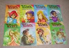 WITCH W.I.T.C.H. - x8 books NEW SET RRP £32 chapter books