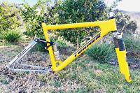 Turner Burner Mountain Bike Frameset Rock Shox Judy SL Chris King Fox Vintage