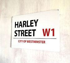 Harley Street Londres signo A4 Placa De Metal