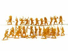 Native American 54mm Collectible Plastic Toy Figures Lot Of 25