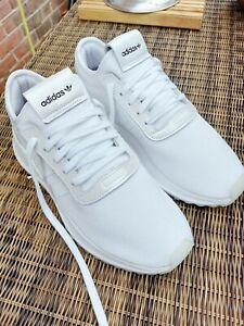 Adidas EVM 004001 Running Trainers Size UK 6.5 (40) WHITE