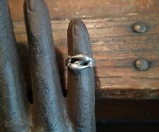 Beautiful vintage sterling silver 2 dolphins toe ring