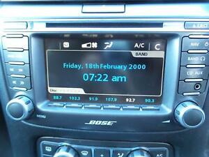 HOLDEN STATESMAN CAPRICE STEREO RADIO HEAD UNIT HEADREST SCREEN  WM 09/06-04/13