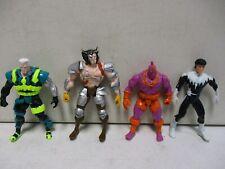 4 Toy Biz Marvel Action Figures with Wolverine