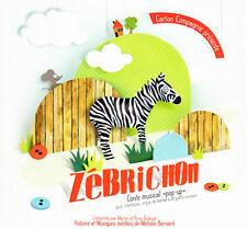 MARION & BRICE DUDOUET - ZEBRICHON (CD DIGIPACK NEUF)