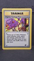 Nightly Garbage Run 77 Team Rocket Uncommon Pokemon Card Near Mint