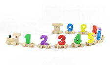 Montessori Educational Wooden Toy Train with Numbers for Babies, Toddlers, gifts