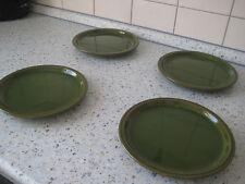 4 Kuchenteller/ Frühstücksteller. Keramik
