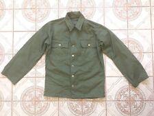 Wwii Korean War Us Army Od Cotton H B Twill O D 7 Utility Field Shirt Jacket S