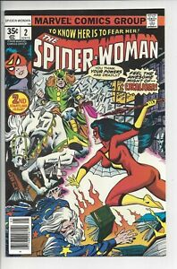 SPIDER-WOMAN #2 NM (9.4)1978 1st Bronze Age Morgan Le Fay Appearance