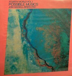 Jon Hassell Brian Eno Fourth World Vol 1 Possible Musics  lp  NM shrink  c/o
