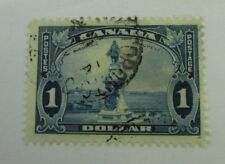 1935 Canada SC #227 CHAMPLAIN MONUMENT used F stamp