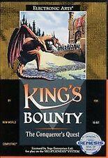 King's Bounty: The Conqueror's Quest (Sega Genesis, 1991) Complete