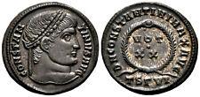 CONSTANTINE THE GREAT (321 AD) Rare Follis. Thessalonica #MU 5867