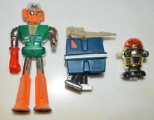 Lot of Vintage Robots Shinsei Mini-Power VALCAN 1 1976 Robot UFO Comander ~155