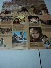 C078 LEE MARVIN CLAUDIA CARDINALE CHRISTOPHER LEE '1983 BELGIAN CLIPPING