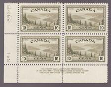#269 LL PL1 - Canada - 10 cent - 1946 Great Bear Lake- MNH -  superfleas - cv$24