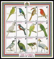 Gambia 1993 - Mi-Nr. 1565-1576 ** - MNH - Vögel / Birds