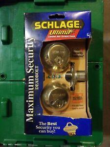 Schlage double cylinder deadbolt - Artisan Series
