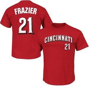 Cincinnati Reds Todd Frazier #21 MLB Majestic Mens Player Shirt Red Big Sizes