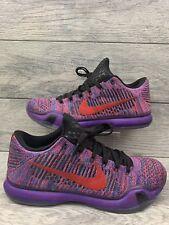 wholesale dealer 14eaa aac8b Nike Kobe X 10 Elite Low Flyknit iD. Multicolor Mens Size 11 (802817-