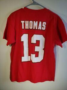 Kansas City Chiefs De'Anthony Thomas 13 Jersey /shirt Majestic