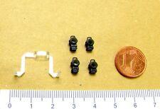 Ersatz-Lichtleiter + Laternen z.B. für FLEISCHMANN Dampflok BR T3 Spur H0 - NEU