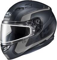 HJC Adult Black/Grey CS-R3 Dosta Full Face Dual Lens Snowmobile Helmet Snow 2020
