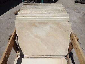 Sandstone Stone slate tiles 400x600mm multi color about 15mm thick $25 each