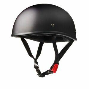 Vintage Motorcycle Helmet Half Face Retro German Kask Cafe Racer Scooter Cruiser