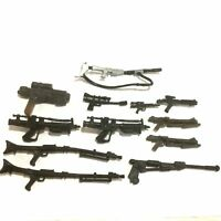 """12pcs Weapon Guns Accesories For STAR WARS Clone Wars Trooper 3.75"""" Figure toy"""
