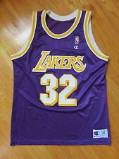 f5e9333dd46 Vintage Champion MAGIC JOHNSON No. 32 LOS ANGELES LAKERS (Size 48) Jersey