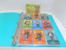 Animal Crossing amiibo Cards Series 1 Japanese Complete Set [#001 - #100]