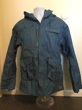 Wed'ze Coat Ski Jacket Blue Men Size Small Zip Up Ventilation Multiple Pockets