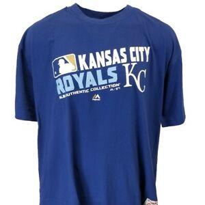 Kansas City Royals MLB Authentic Collection Tee Big and Tall Sizes
