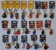 Lego Iron Man/Spiderman/Flash/Batman/Rocket - Superheroes (Pick Your Keyring)