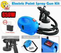 Electric Paint Spray Gun High Pressure Multifunction Automatic DIY Sprayer M1
