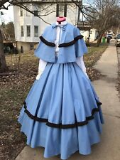 Civil War Dress Victorian Dickens Renaissance Prairie Christmas Caroling Costume