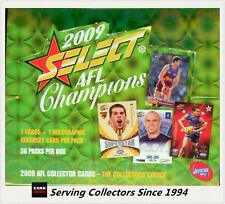 2009 Select AFL Champions Factory Box (36 packs)