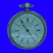 Rare Cornholme Brass Band of Todmorden Fusee Centre Sec's Chronograph Watch 1892
