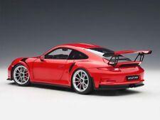 1:18 Autoart 78165 Porsche 911 (991) Gt3 Rs (Guardie Rosso/Argento Cerchi)