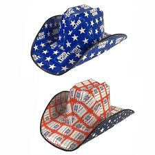 Budweiser Bud Light Cowboy Hat Party Summer 4th Fourth of July Adult Beer Rodeo
